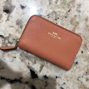 Coach card/change wallet
